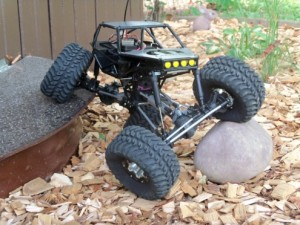 radio controlled rock crawler